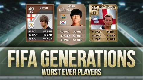 FIFA Generations   Worst Ever Players! w/ 25 RATED INFORM