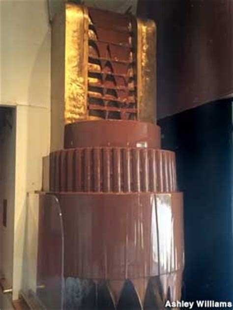 Portland, OR - World's Largest Continual Chocolate Waterfall