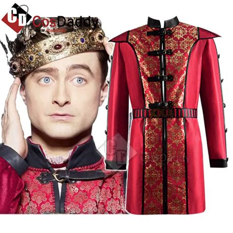 Miracle Workers Dark Ages Daniel Radcliffe Costume Red