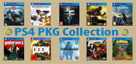 PS4 PKG Games Collection Download (Google Drive)