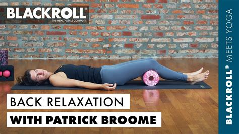 Relieve tension in the lower back with Patrick Broome Yoga
