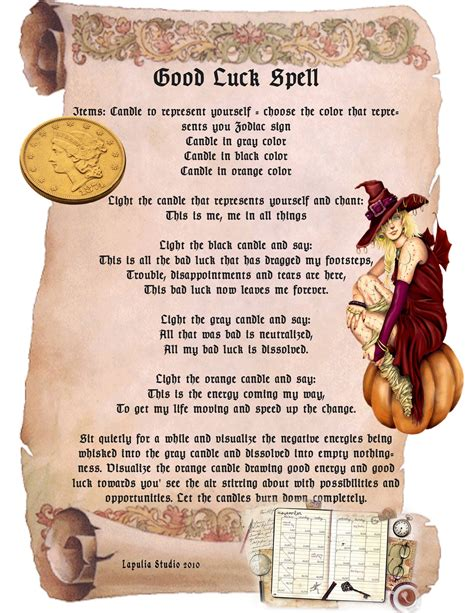 Magick Spells Free Download for Book of Shadows
