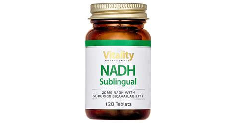 NADH Sublingual Tabletten - NADH Sublingual