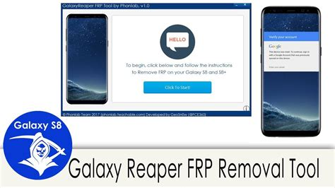 Phonlab GalaxyReaper FRP removal Tool for the S8 and S8