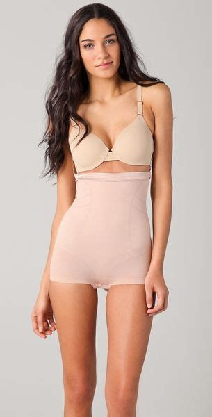 Spanx Slimmer & Shine High Waisted Shaper in Pink (rose