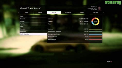 GTA 5 100 Percent Checklist: How long does it take to beat