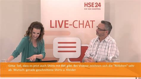 Georg Stiels im HSE24 Live-Chat - YouTube