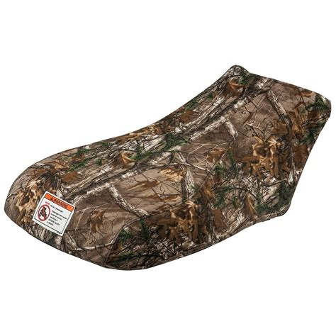 Yamaha ATV Camo Seat Cover - Fits 2016 - 2017 Grizzly