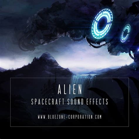 Alien Spacecraft Sound Effects library by Bluezone released